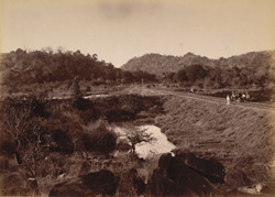 HH the Nizam's Railway, Poosapally gorge.